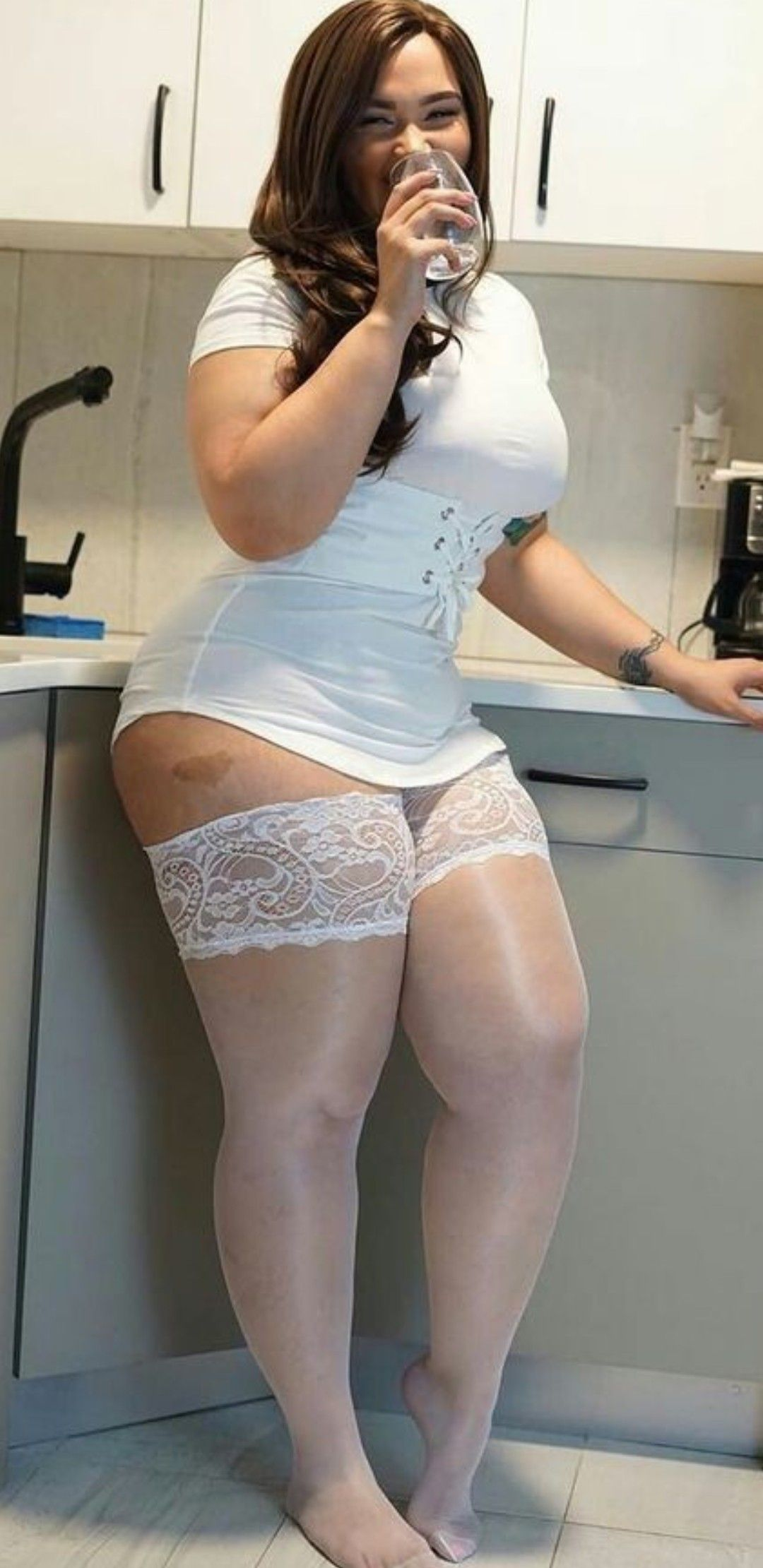 wife in home video